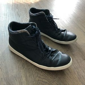 Aldo Blue High Top Sneaker
